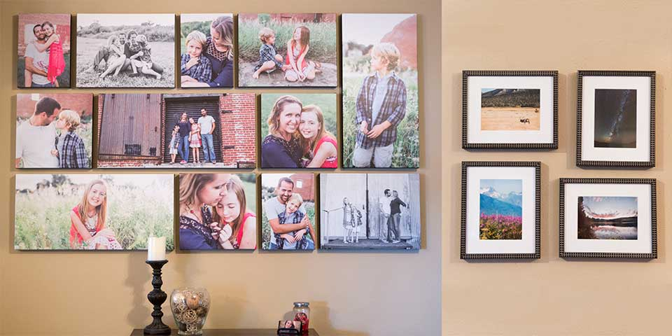 My Favorite Wall Art Is Canvas Prints And I Love Designing Gallery Walls Also Offer Framing Framed Groupings Because Sometimes There S