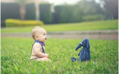 Hampton 7 months |  Lakeland baby photographer